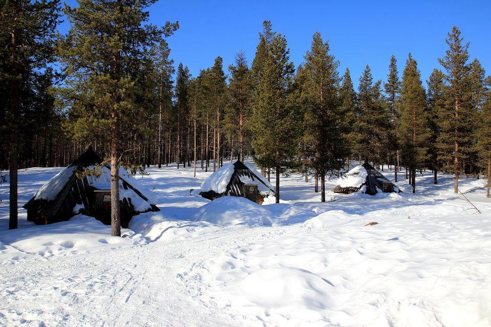 Cabanes en pleine nature en Laponie