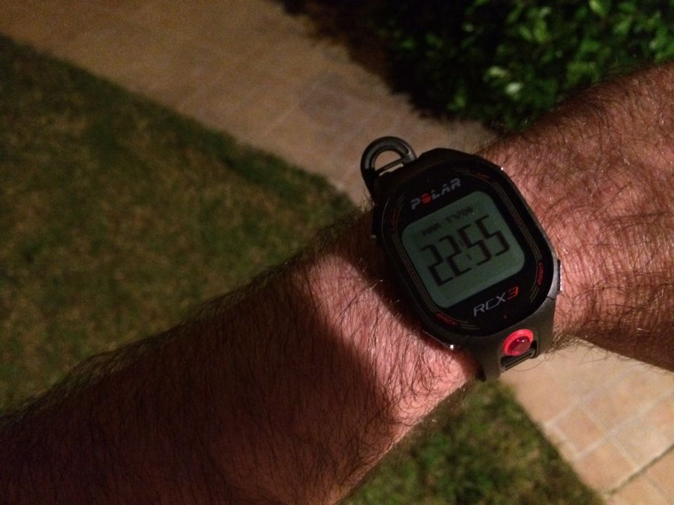 Polar RCX3 montre