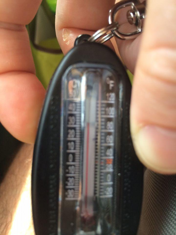 Temperature train