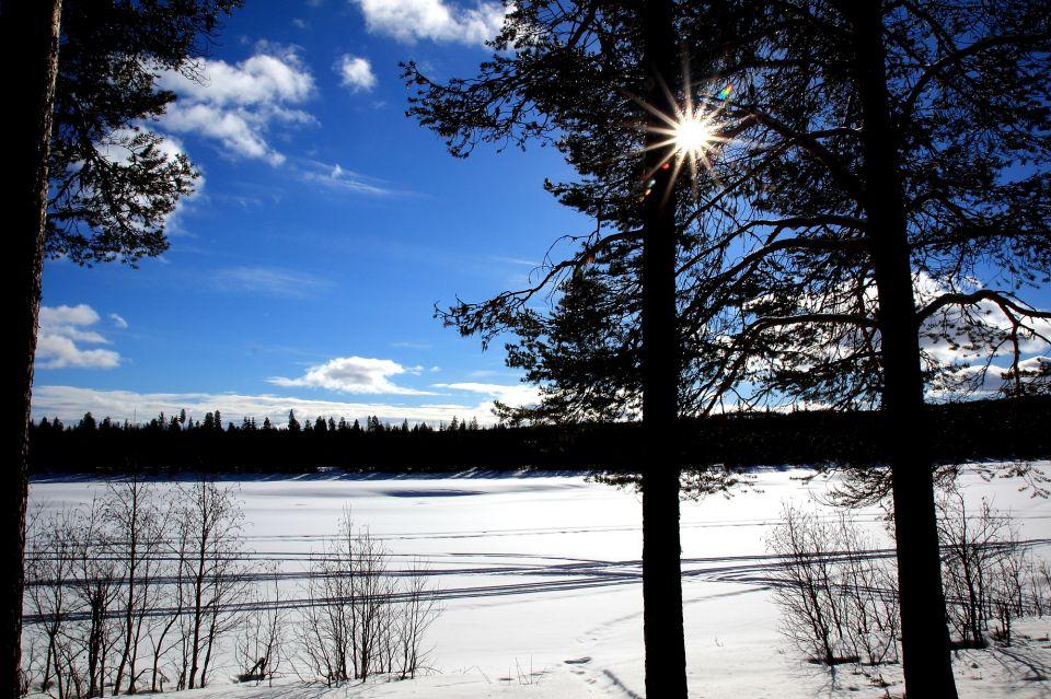 Camp en Laponie