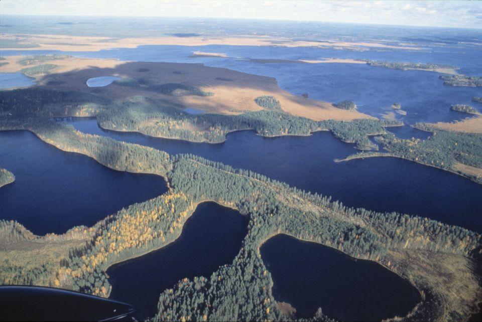 Lacs en Finlande