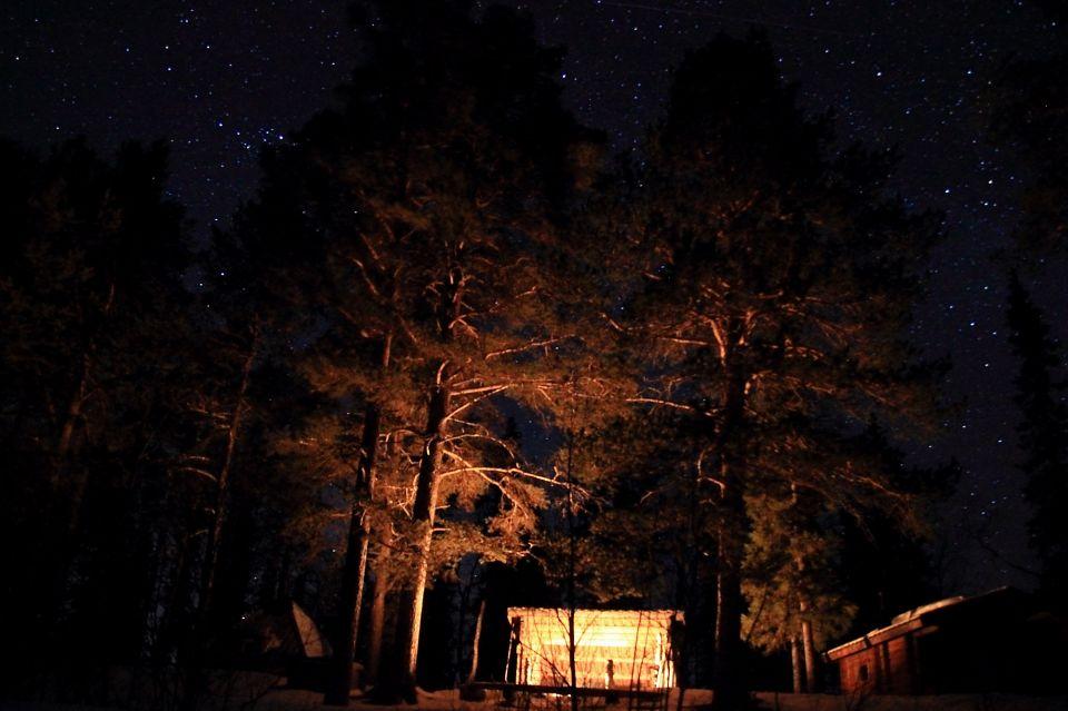 Lumieres de la nuit en Laponie