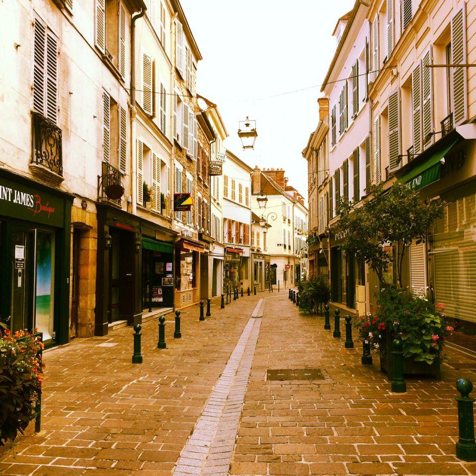 Rue pietonne de Fontainebleau