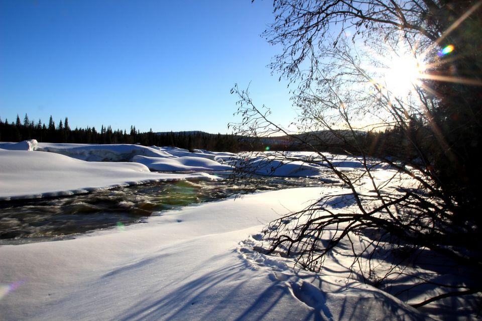 riviere en Laponie
