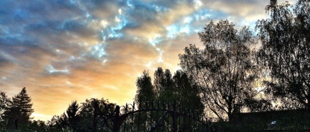 ciel et nuages du matin