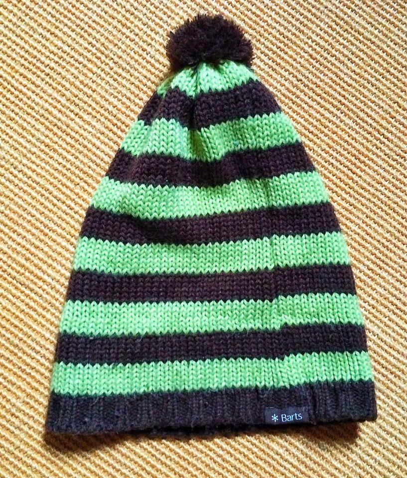 Bonnet Bart marron vert
