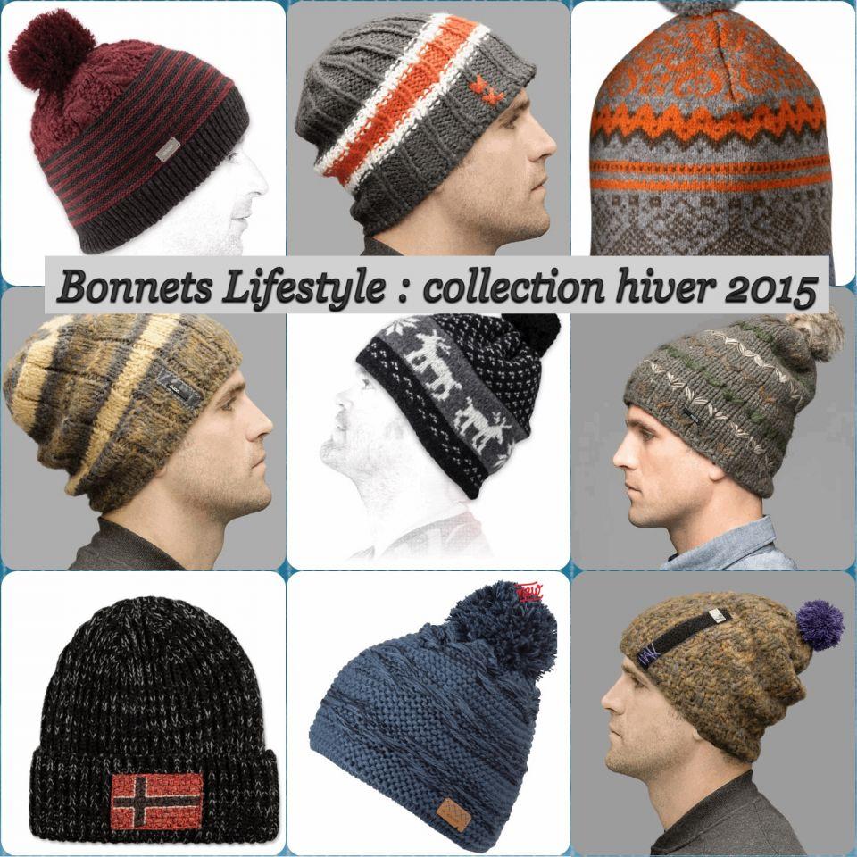 Bonnets mode lifestyle tendance hiver 2015