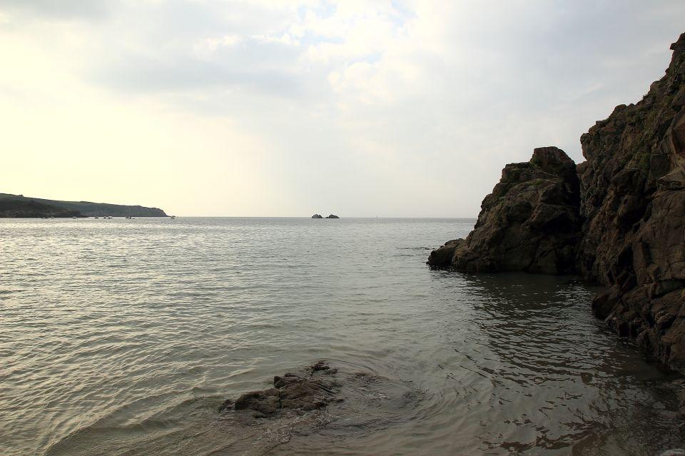 Bretagne plage de pors peron