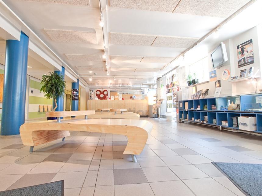 Accueil eurohostel Helsinki