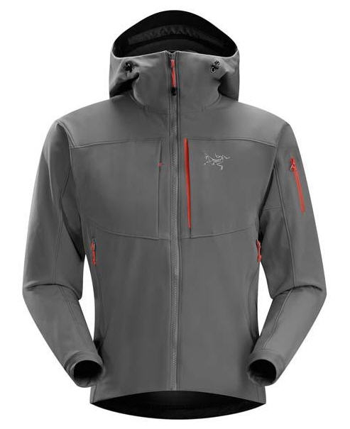 Veste softshell Arc Teryx Gamma MX Hoody Iron Anvil