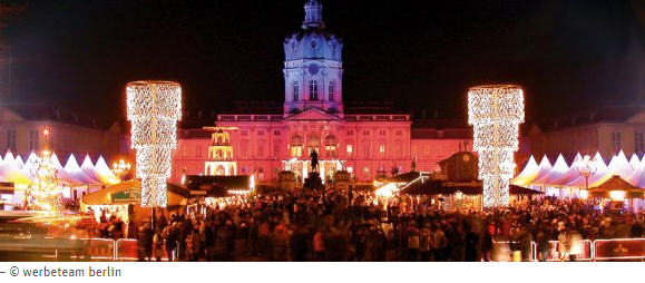 Marché de Noël Berlin château de Charlottenburg