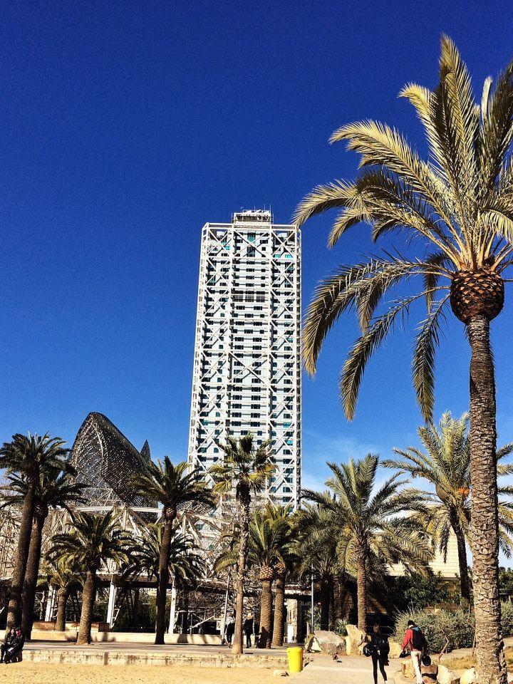 L'hôtel Arts Barcelona