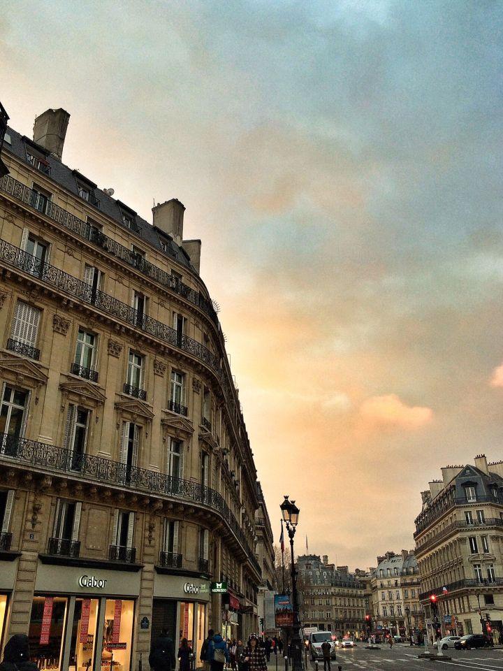 Paris avenue opéra