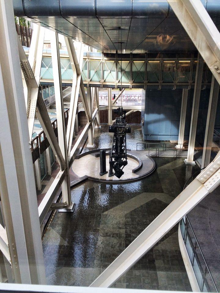 reflets et eau hotel barcelone