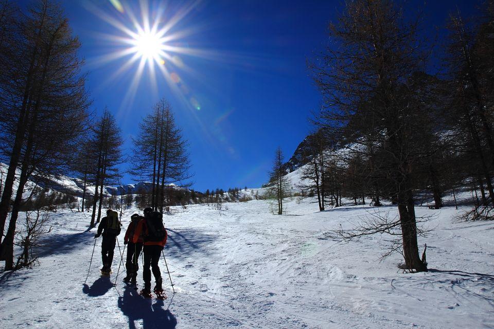 Hautes-Alpes Queyras rando raquette