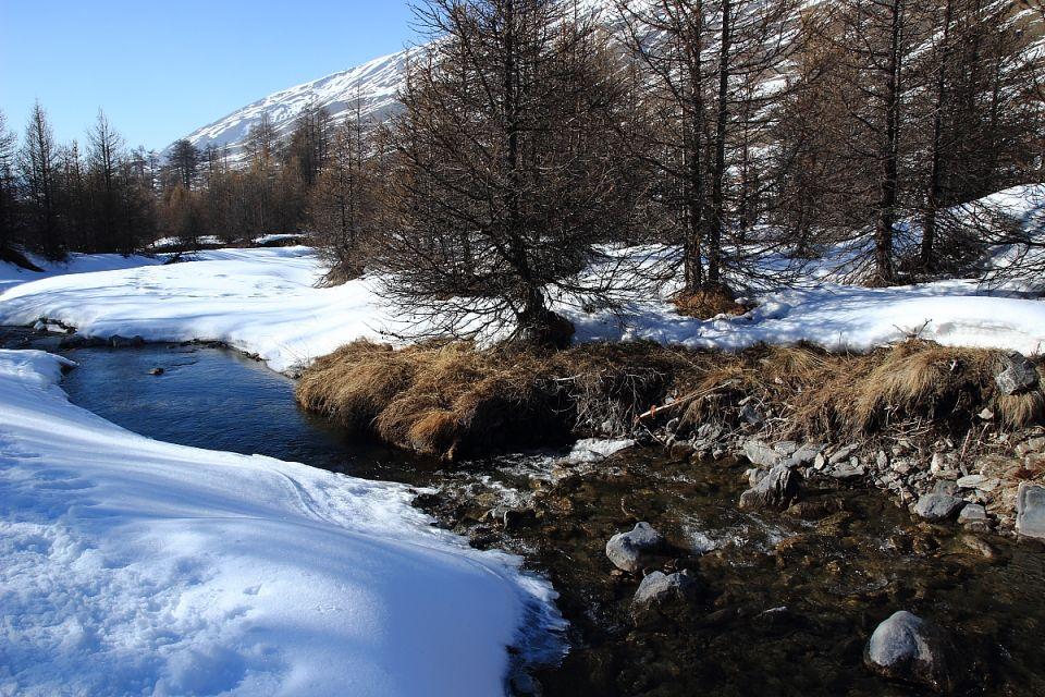 Hautes-Alpes Queyras randonnée en raquettes