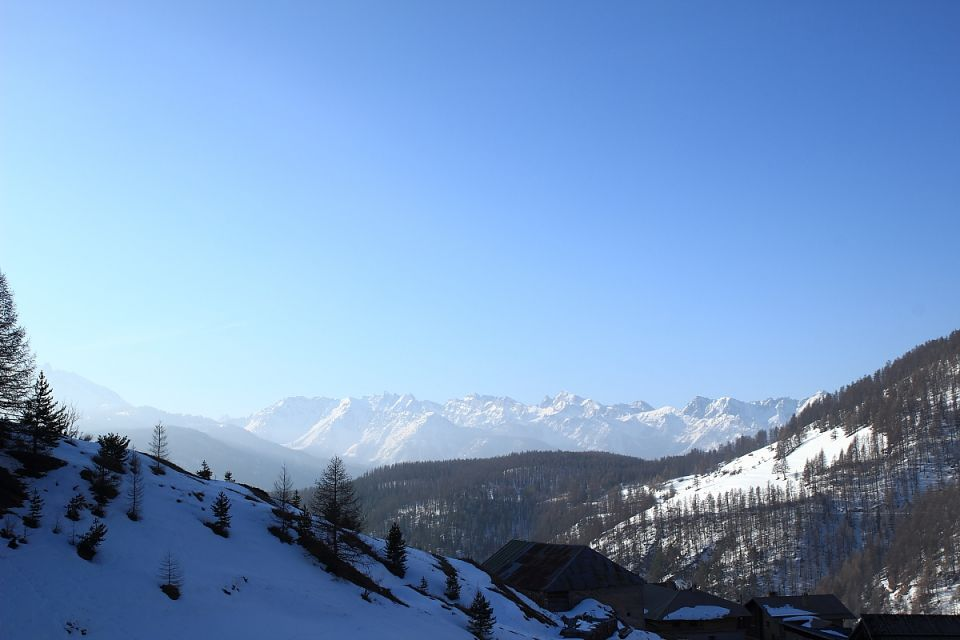 Haute route des Escartons - Gite Rochebrune