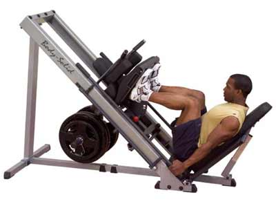musculation cuisses presse