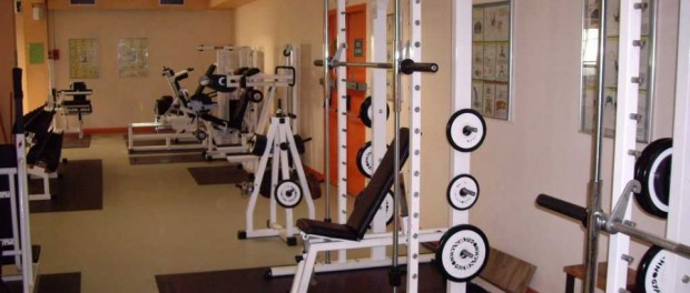 Salle de muscu par Tristan Larrue
