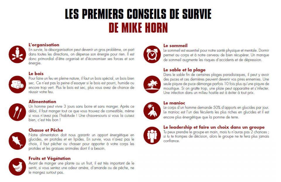 The Island - Conseils survie Mike Horn