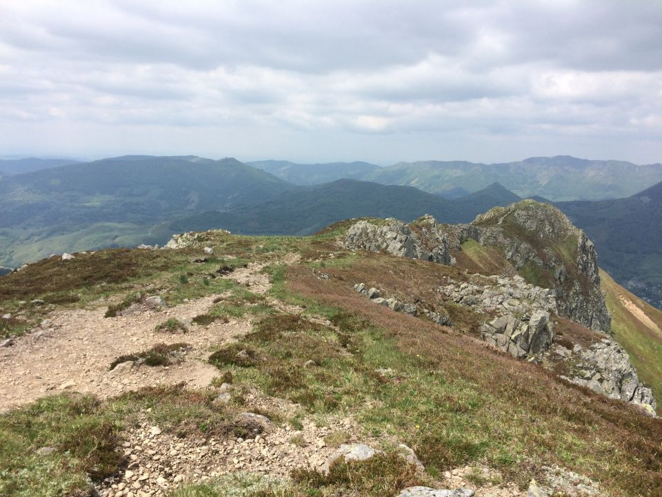 cretes du trail du cantal
