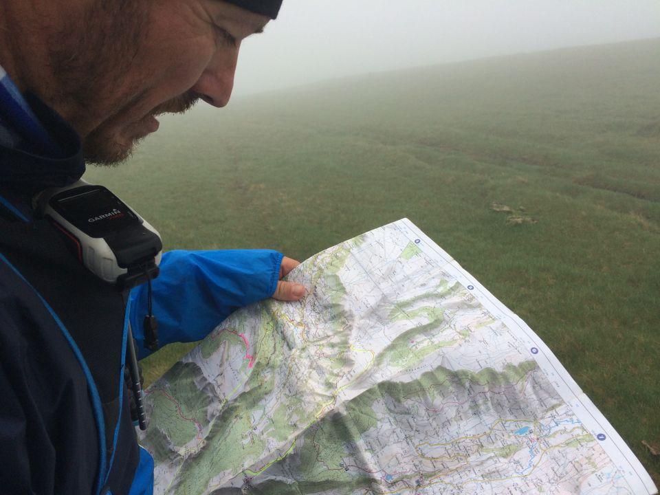 itineraire trail carte rando cantal