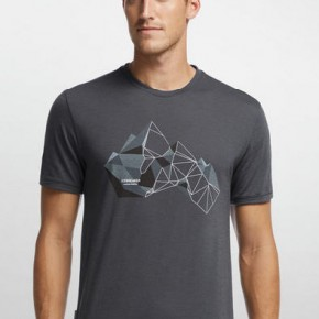 Icebreaker Tech Lite Short Sleeve Glass Mountain