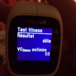 Polar test fitness