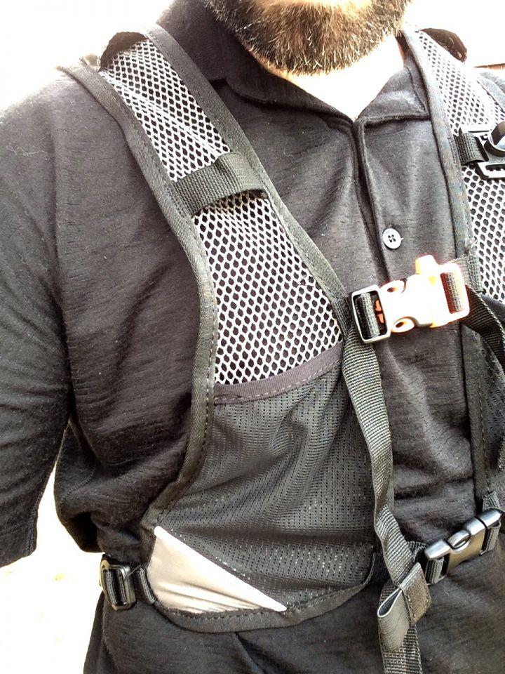 bretelles sac de trail kalenji