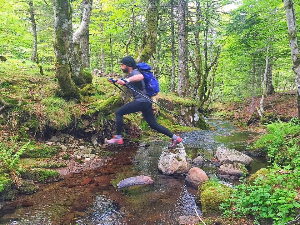 trail en merrell capra goretex