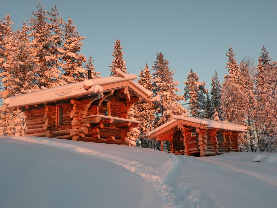 17-les cabanes sous la neige
