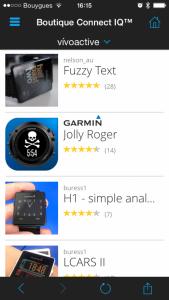 Boutique Garmin IQ