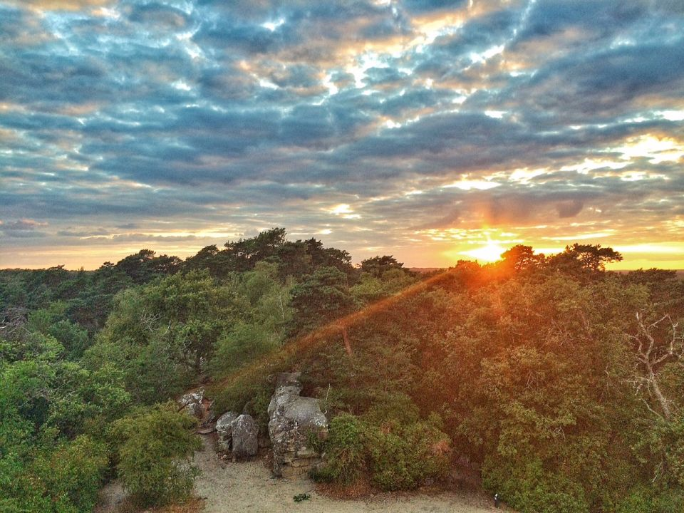 Trail vers la tour denecourt carnets nordiques - A quelle heure le soleil se couche t il ...
