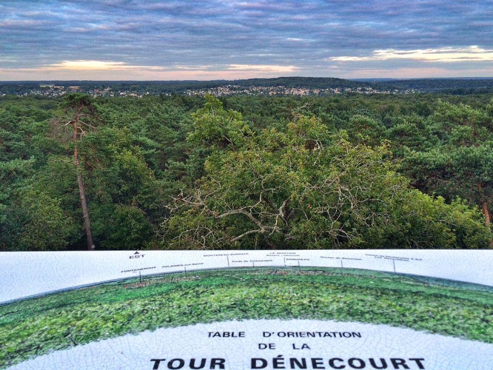 POint de vue de la Tour Dénécourt