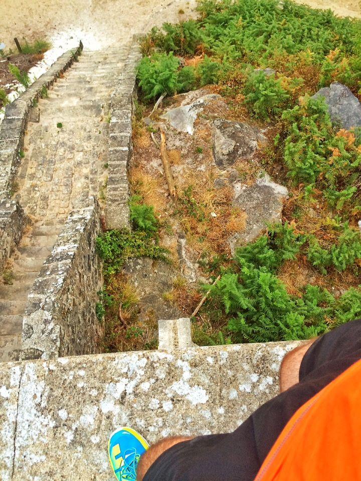 Vue depuis la haut de la Tour Denecourt
