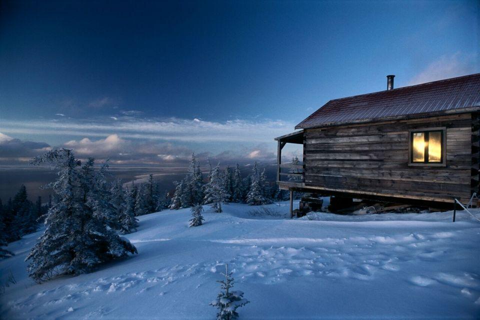 cabane hiver quebec