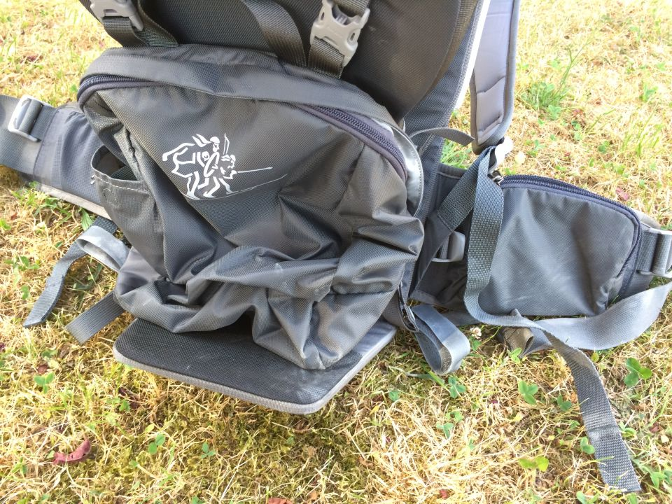 mini sac porte bébé bergans