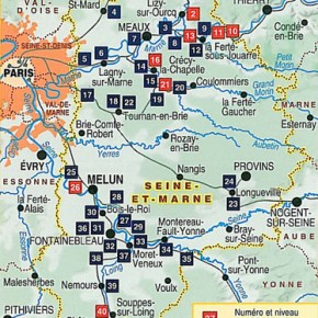 Topo Guide Seine et Marne de Gare en gare