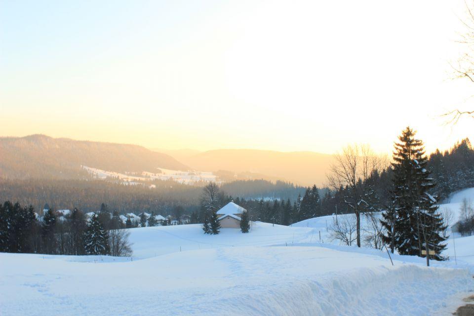 Coucher de soleil a Bellefontaine