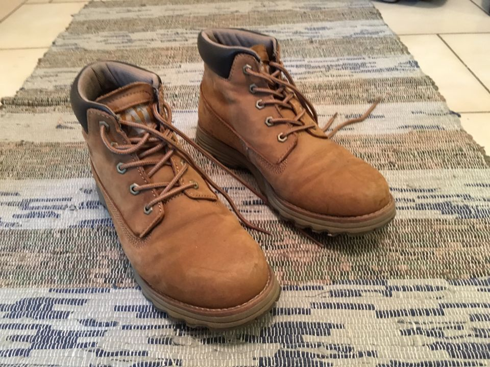 Caterpillar founder bottes beige