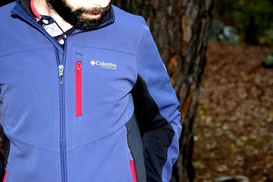 veste polaire hybride columbia titan ridge
