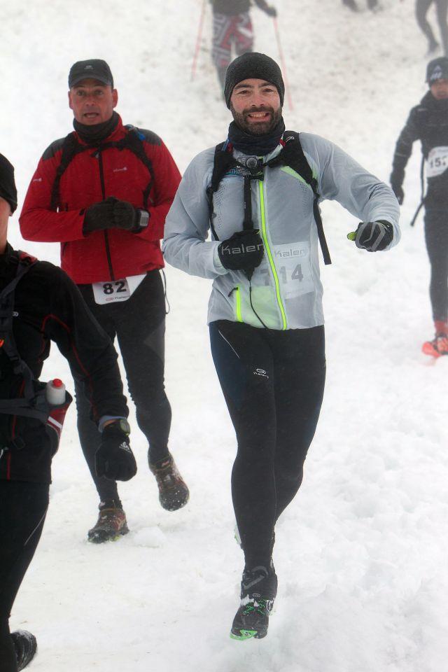 Trail blanc des vosges nicolas Mauclert