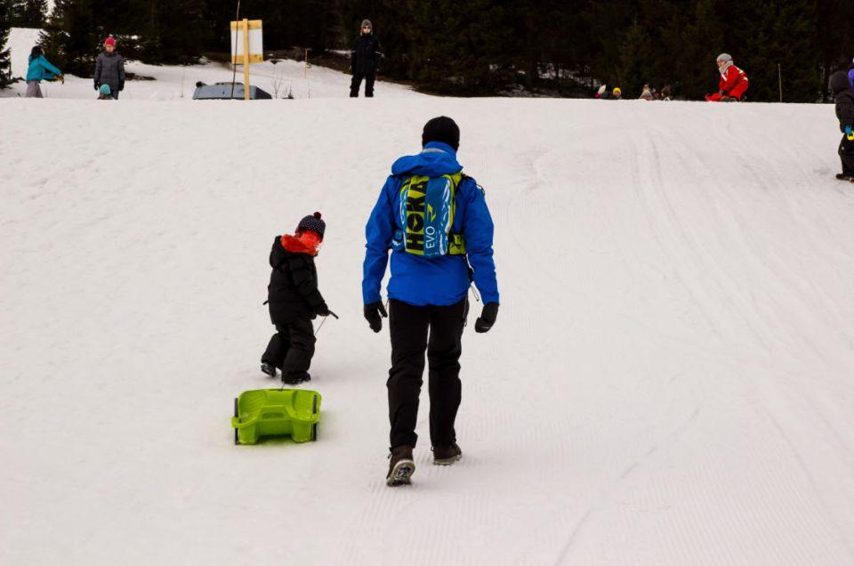 Enfant vacances neige