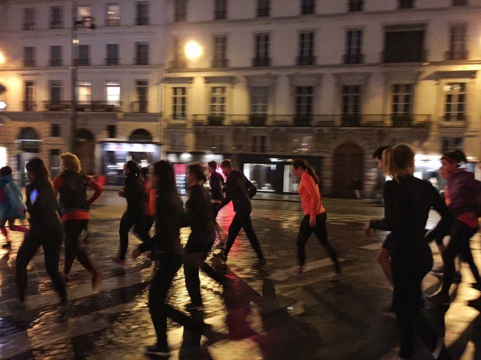 Courir dans les rues de Paris MountainAthletics