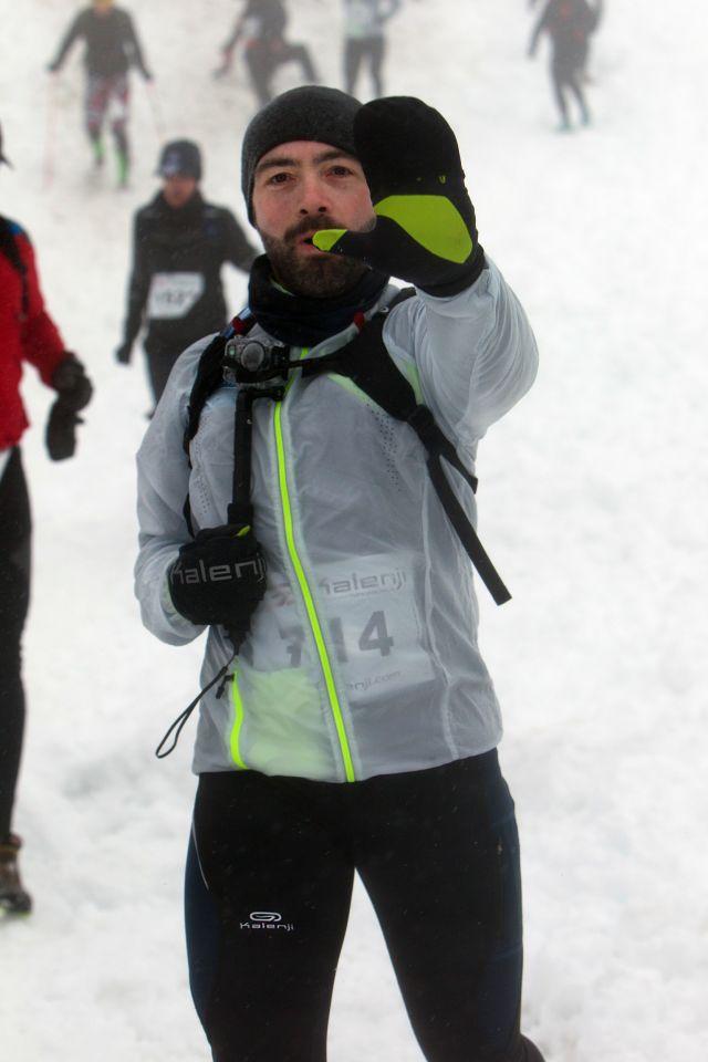 Nicolas Mauclert Trail blanc des Vosges