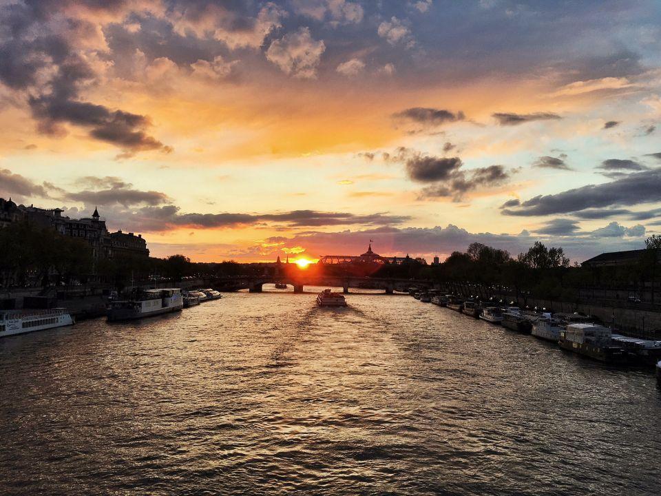 Paris coucher de soleil