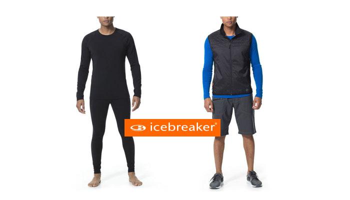 Tenue de running Icebreaker printemps