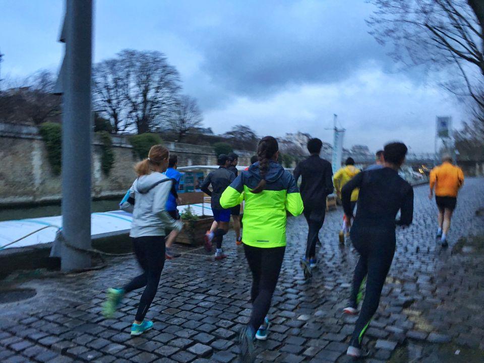 Running Paris - The North Face