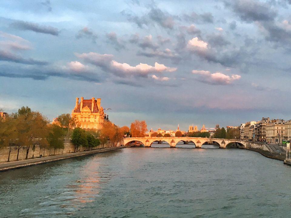 coucher de soleil Paris