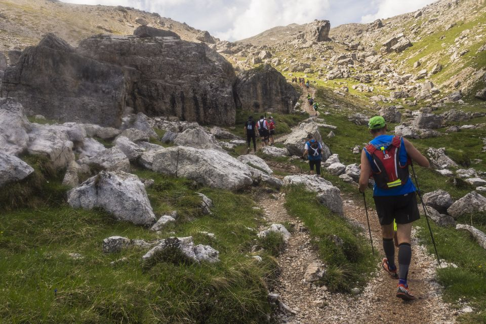 The north face Lavaredo ultra trail Cortina